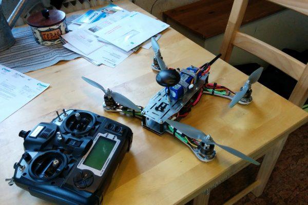 Quadrocopter.